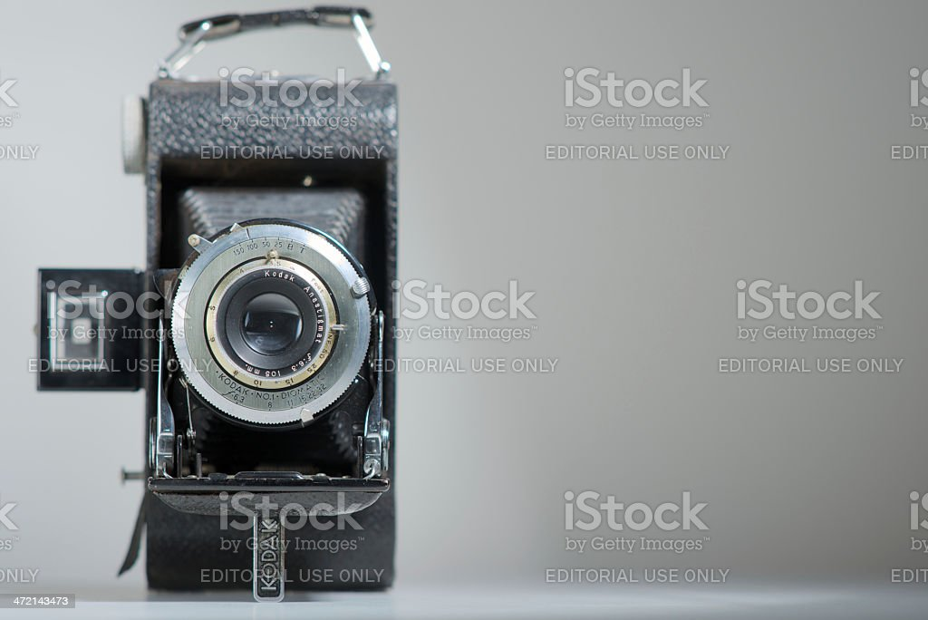 Vintage Kodak Bellow Camera stock photo
