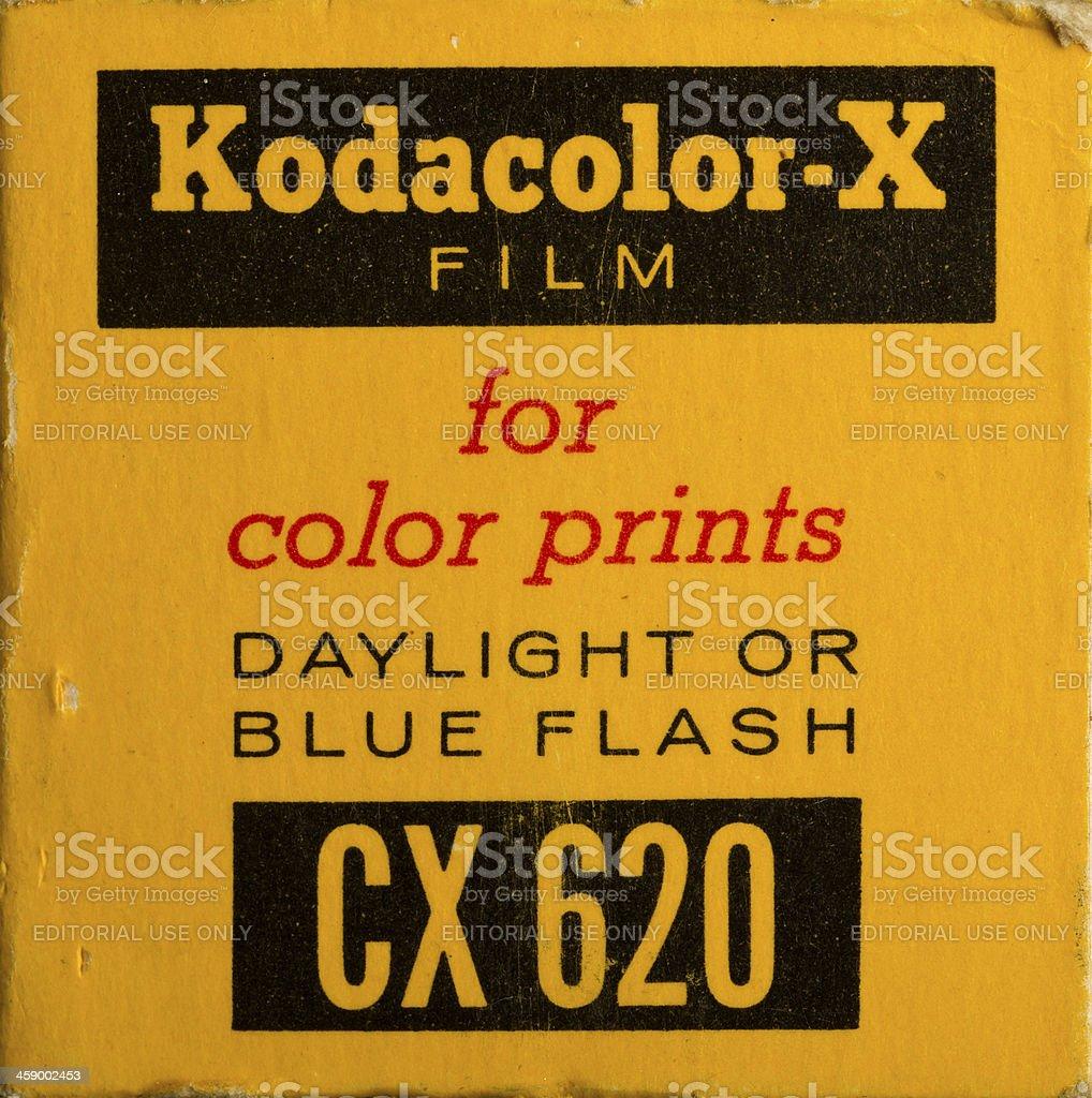 Vintage Kodak Film royalty-free stock photo