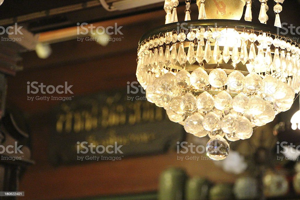 Ретро лампа Стоковые фото Стоковая фотография