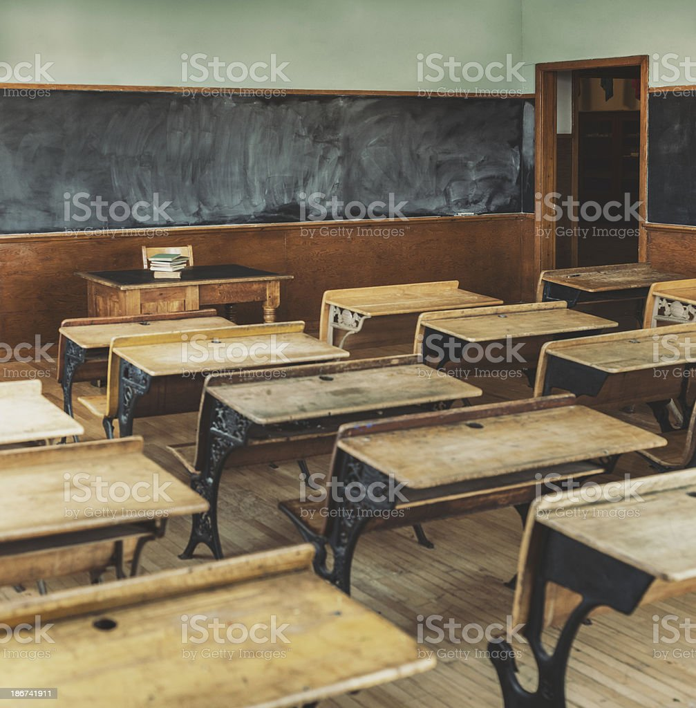 Vintage Learning stock photo