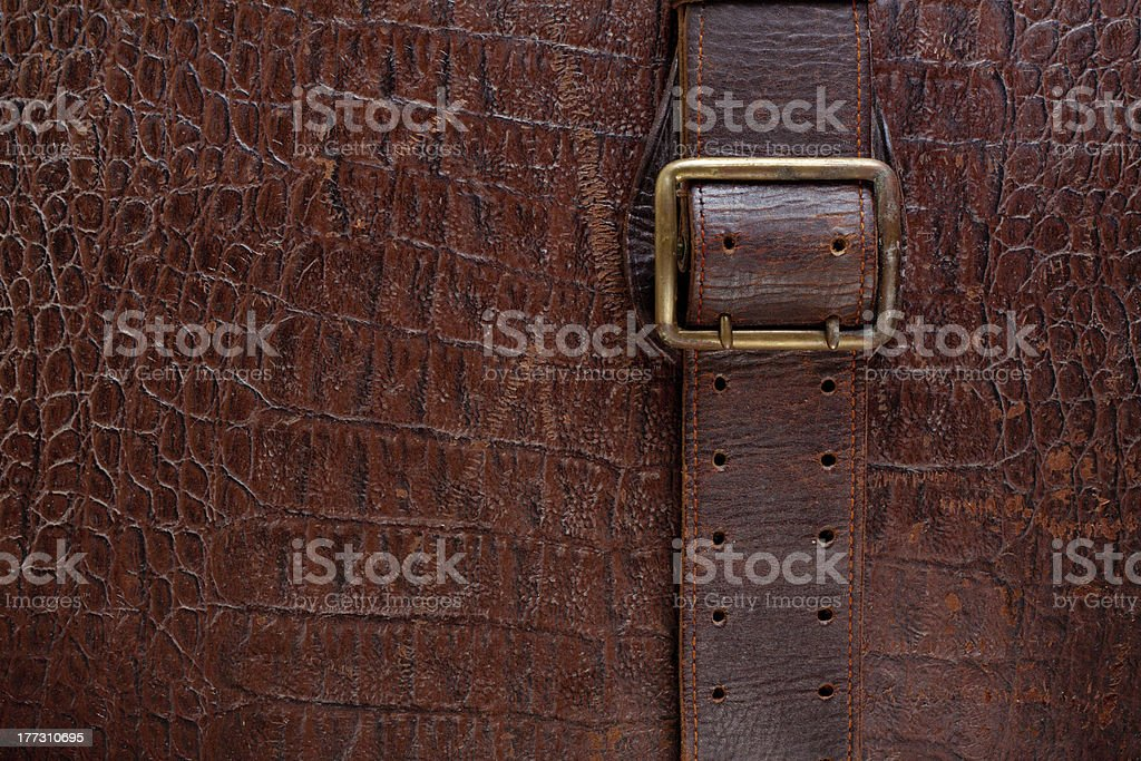 Vintage leather textured background royalty-free stock photo
