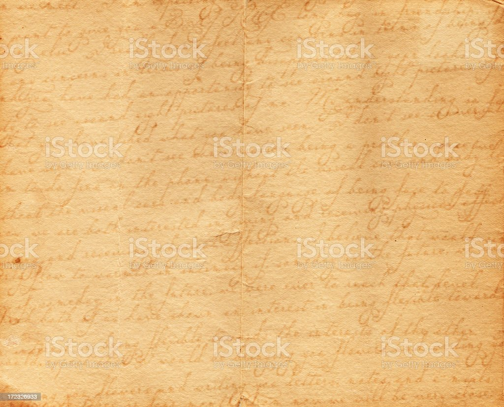 Vintage letter XXXL royalty-free stock photo