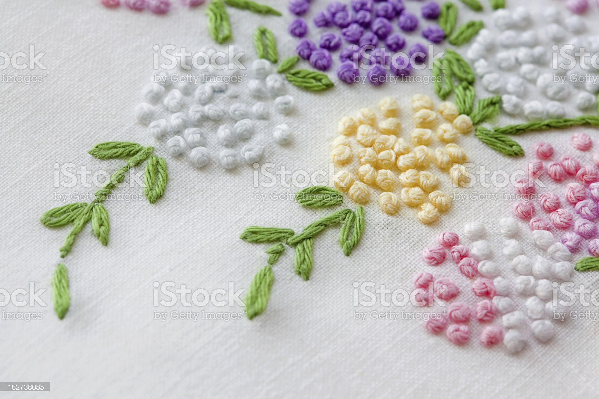 Vintage Linen Design royalty-free stock photo