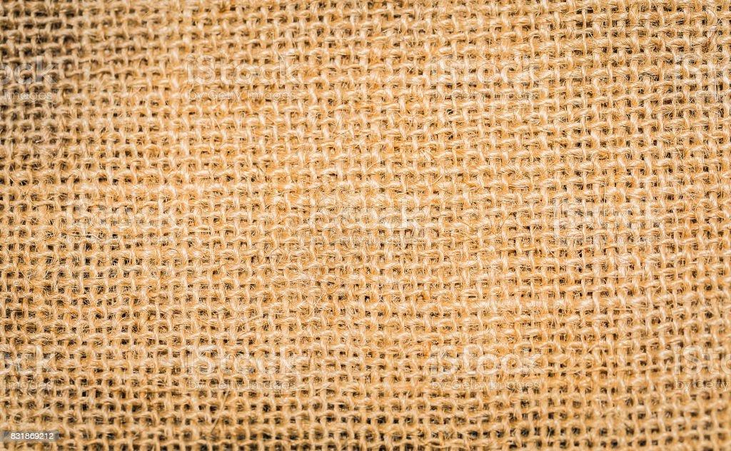 Vintage linen fabric background