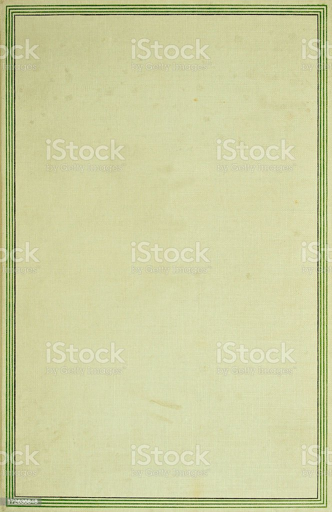 Vintage Linen Frame royalty-free stock photo