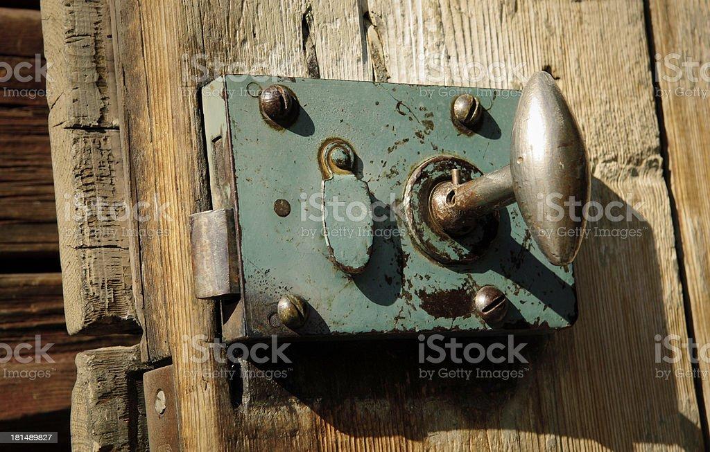 Vintage Lock royalty-free stock photo
