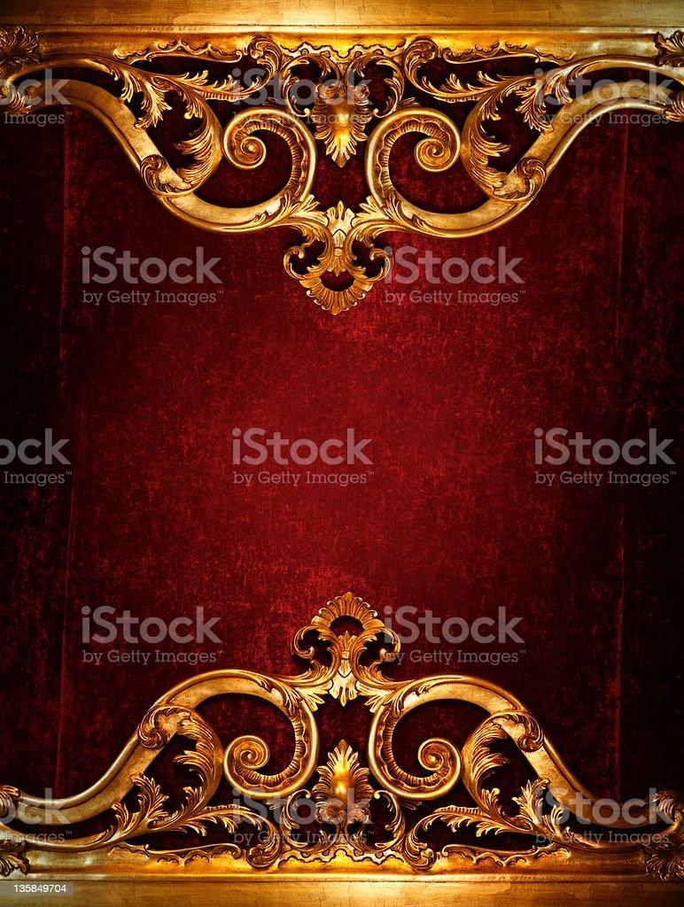Vintage luxury decoration. stock photo