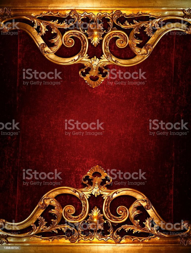Vintage luxury decoration. stock photo