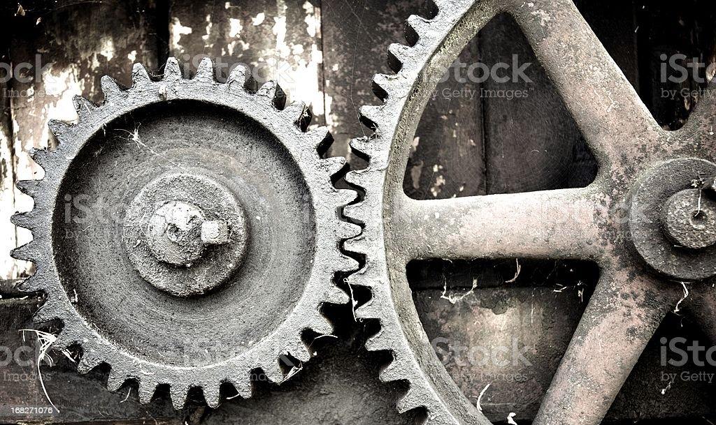 Vintage Machinery stock photo