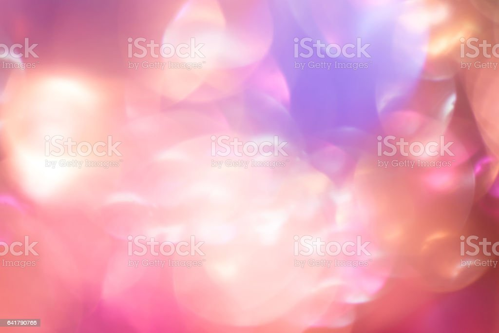 Vintage Magic background with colorful bokeh. stock photo