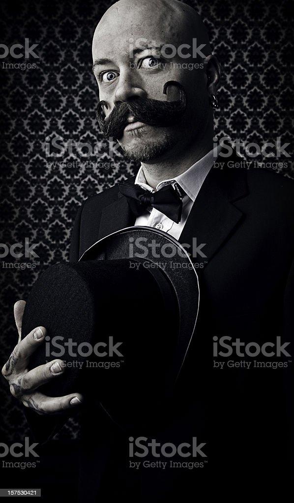 Vintage Man royalty-free stock photo