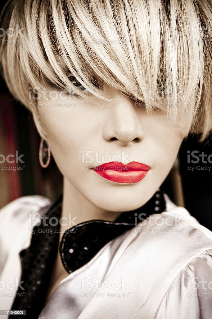 vintage mannequin royalty-free stock photo