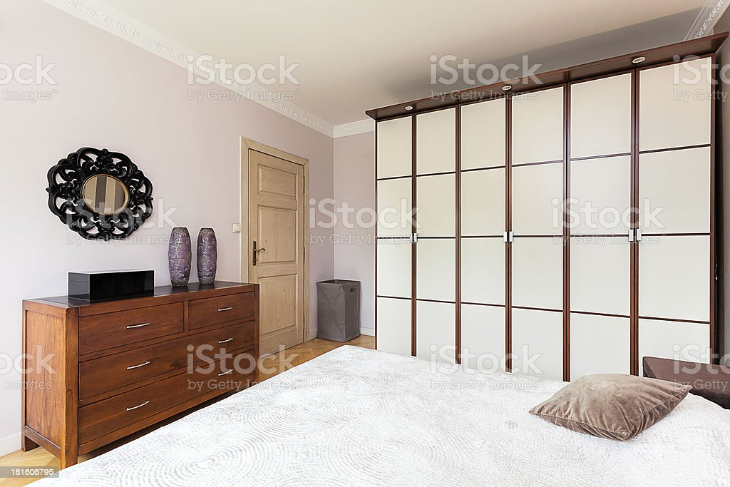 Vintage mansion - partition wall royalty-free stock photo