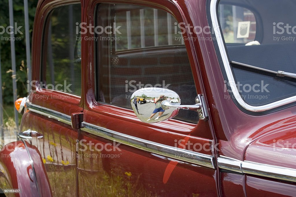 Vintage Mercedes-Benz royalty-free stock photo