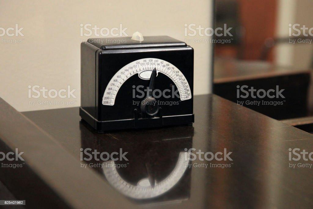 Vintage Metronome stock photo