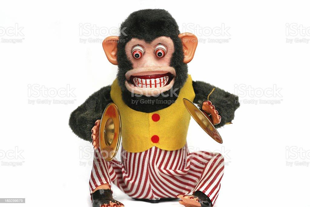 Vintage Monkey royalty-free stock photo