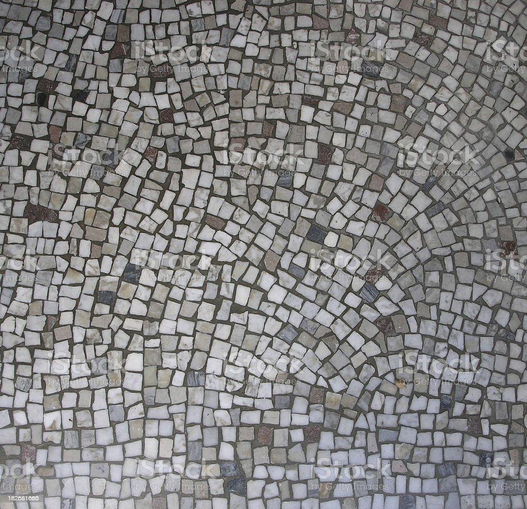 Vintage Mosaic Tile royalty-free stock photo