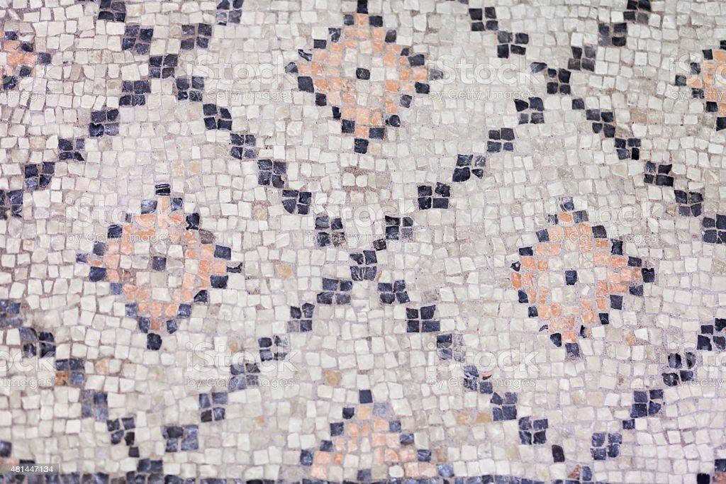 Vintage Mosaic Tile stock photo