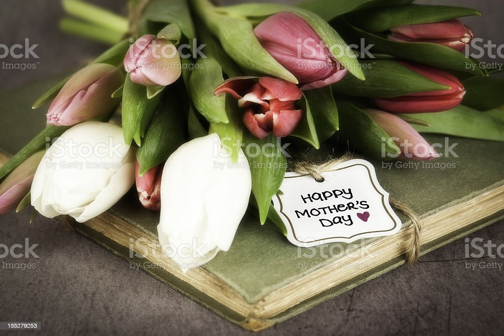 Vintage Mother's Day royalty-free stock photo