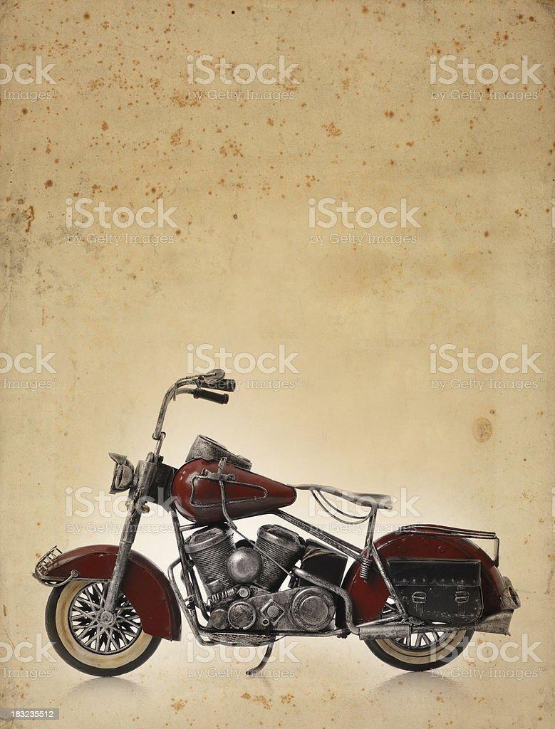 vintage motorbike grunge royalty-free stock photo