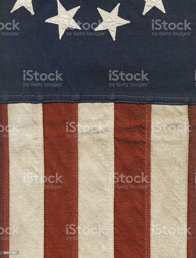 Vintage Nautical Flag Abstract royalty-free stock photo