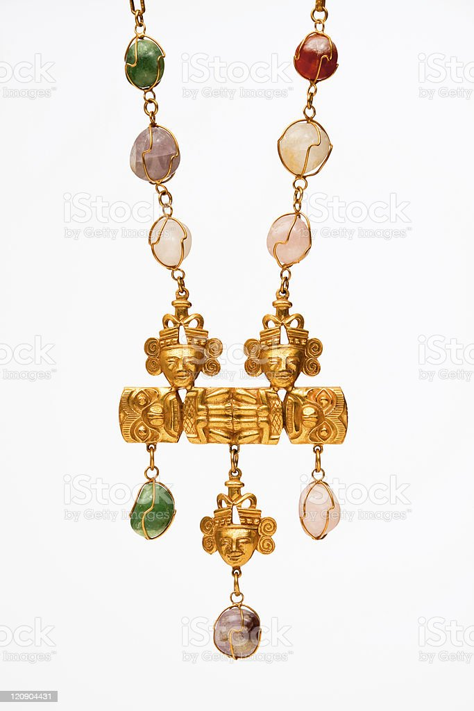 Vintage Necklace royalty-free stock photo