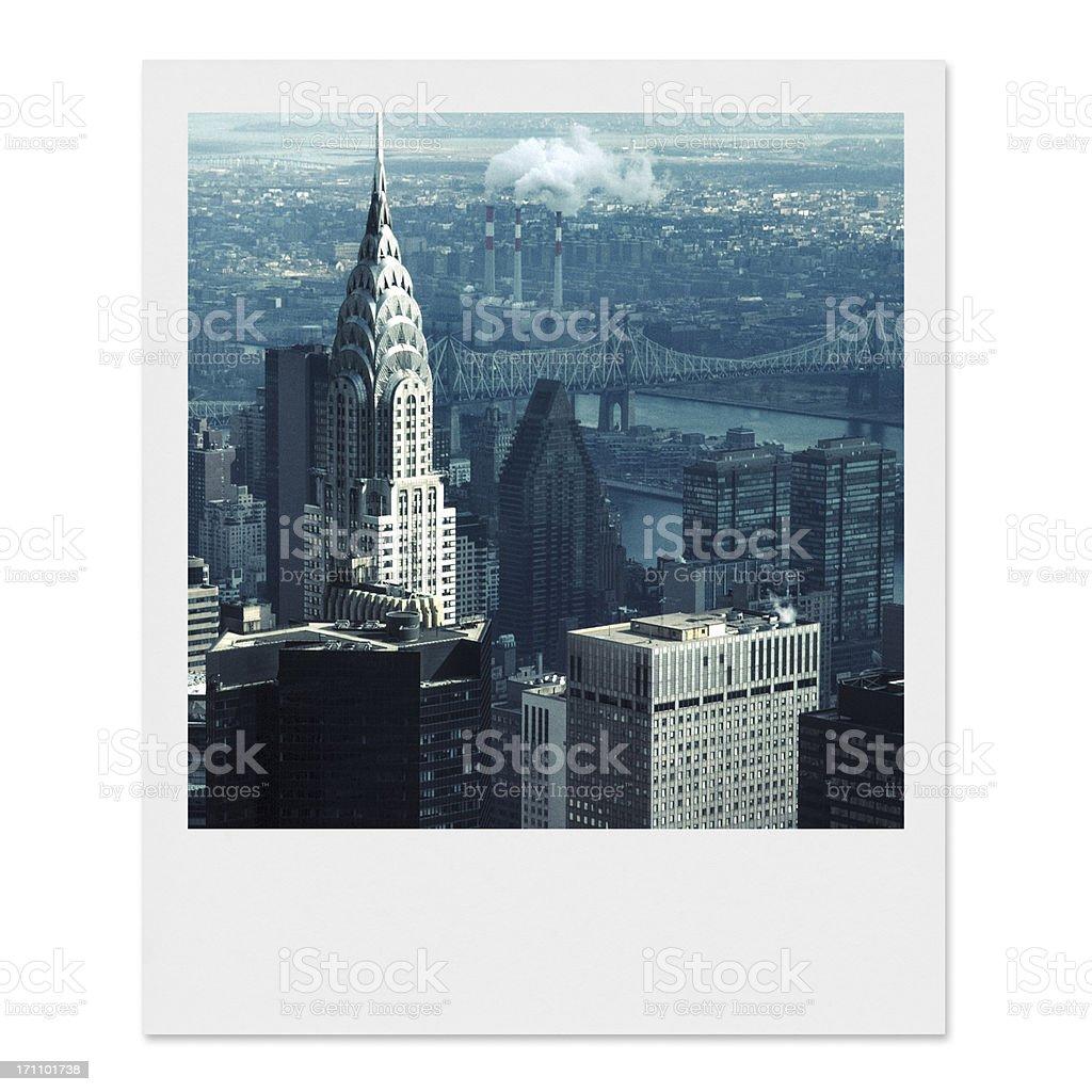 Vintage New York City stock photo