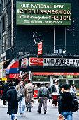 Vintage New York City: the original National Debt Clock