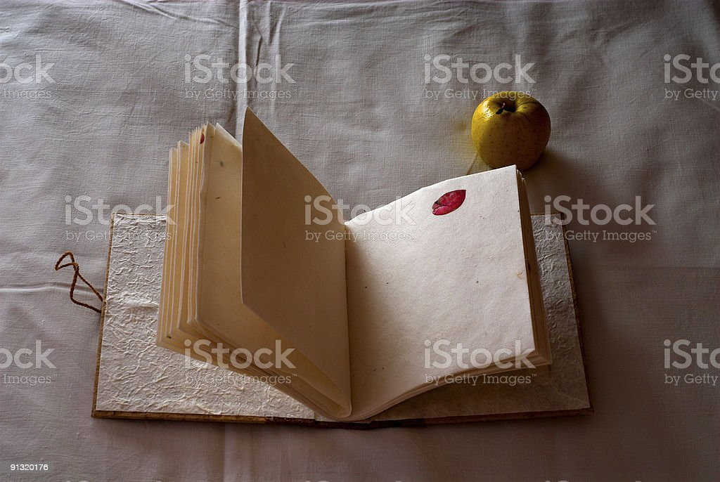 Vintage note book royalty-free stock photo