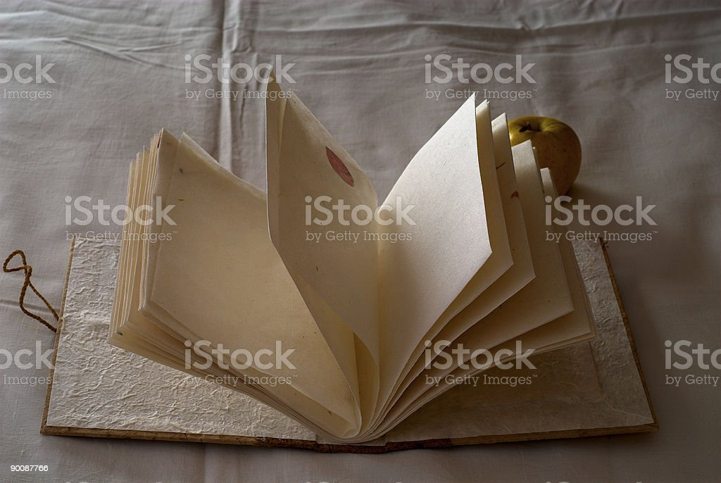 Vintage notebook royalty-free stock photo