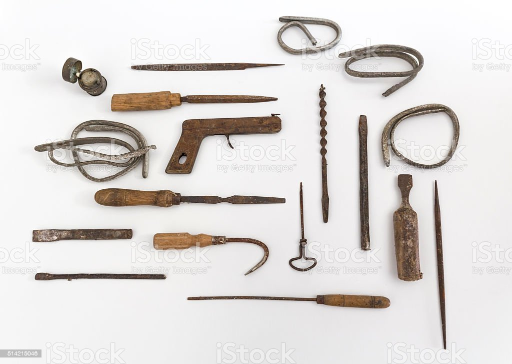 Vintage object stock photo