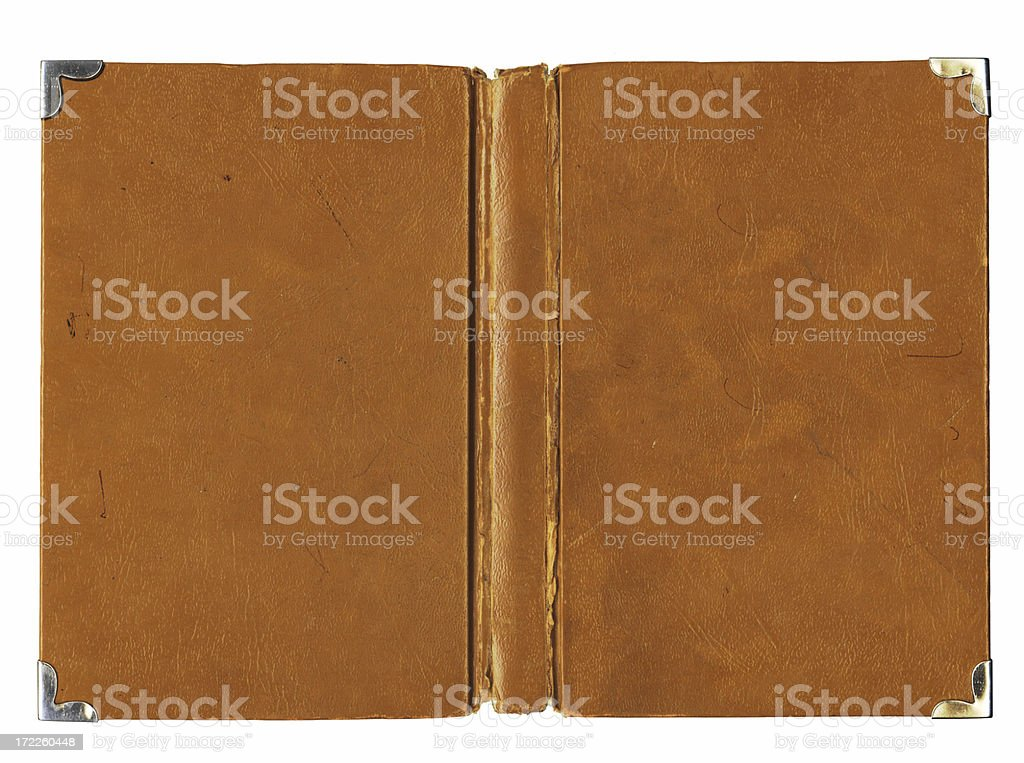 Vintage Old Book coover stock photo