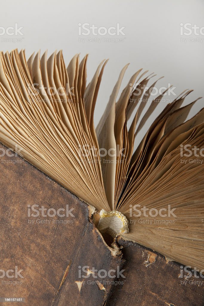 Vintage old book royalty-free stock photo