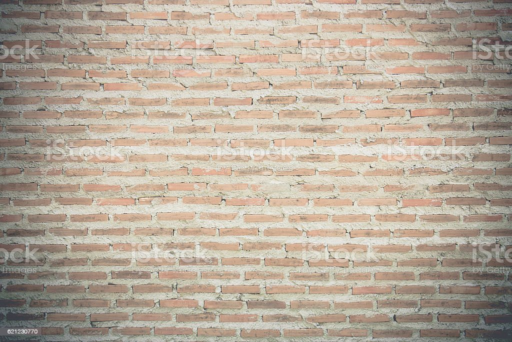 Vintage old brick background stock photo