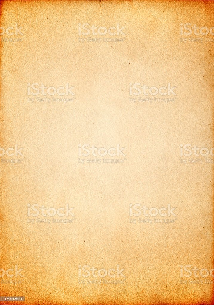 XXL vintage old paper royalty-free stock photo
