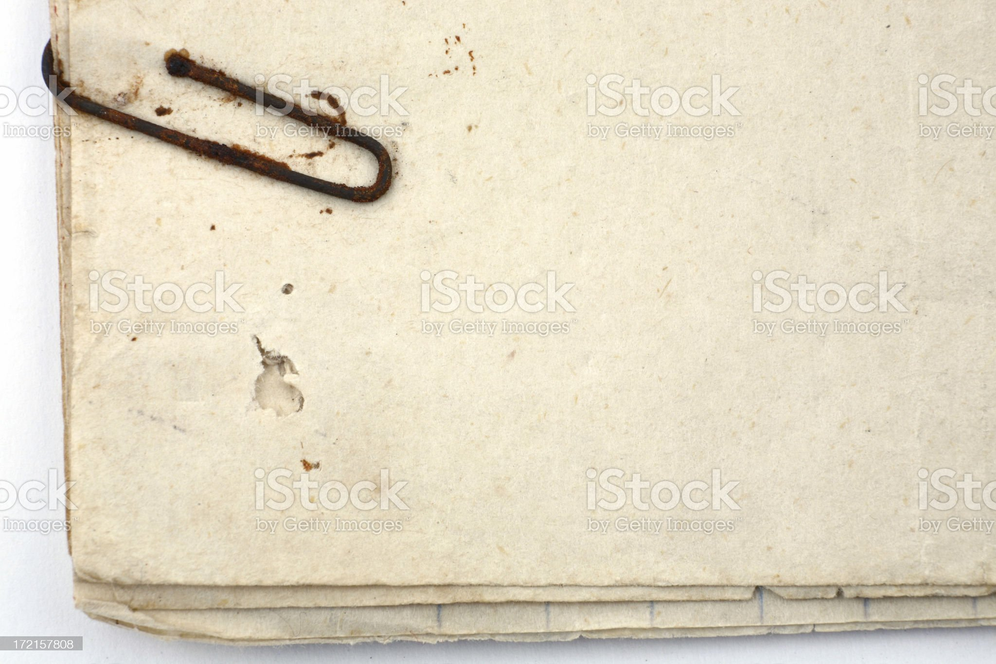 Vintage Old Paper royalty-free stock photo