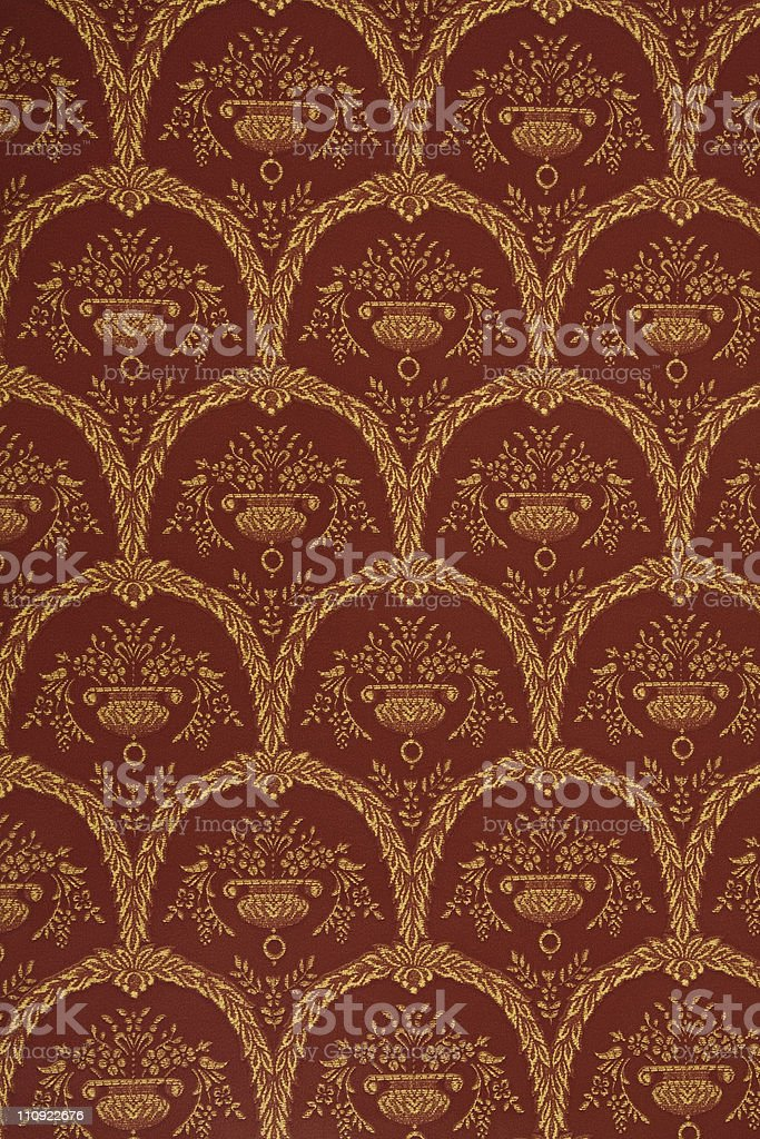 Vintage Old Wallpaper royalty-free stock photo