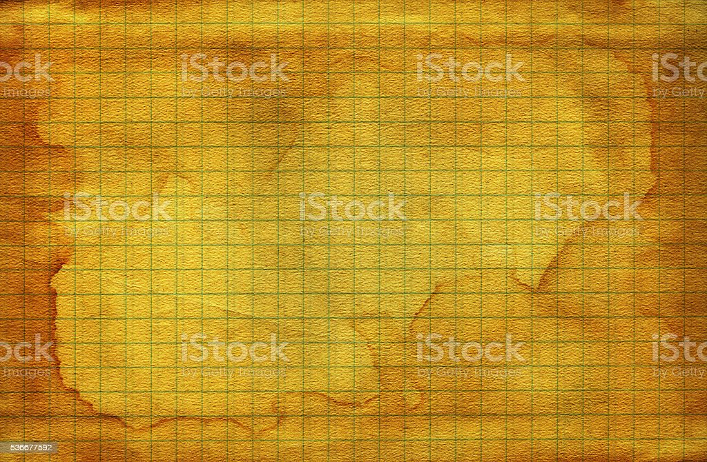 Vintage old worn math paper stock photo