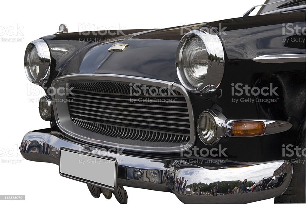 Vintage Opel Kapitaen royalty-free stock photo