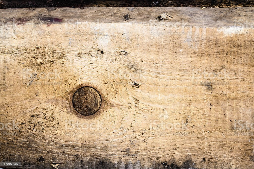 Vintage or grunge background of natural wood royalty-free stock photo