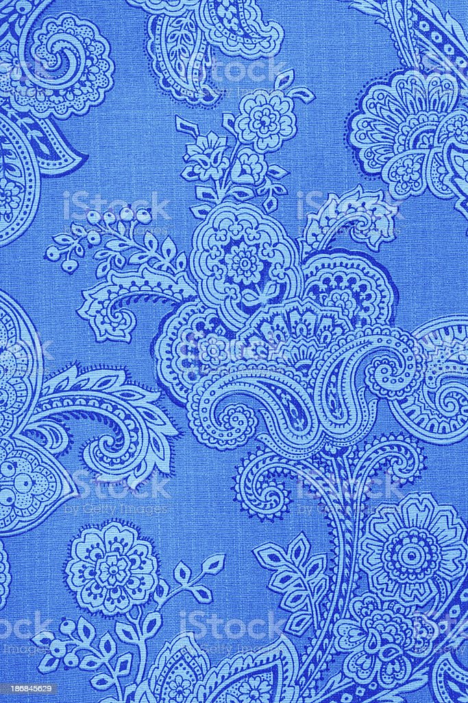 Vintage Paisley Retro Wallpaper royalty-free stock photo