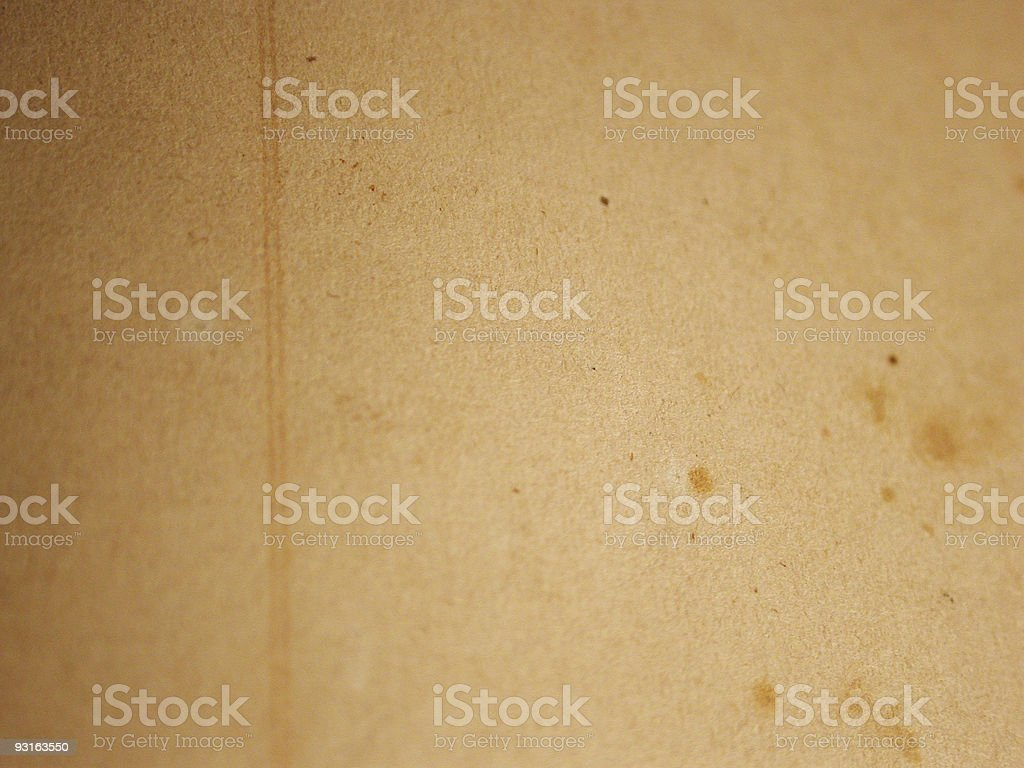 Vintage Paper - 1880's royalty-free stock photo
