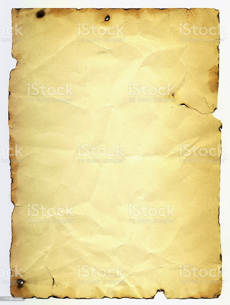 Vintage Paper 2 royalty-free stock photo