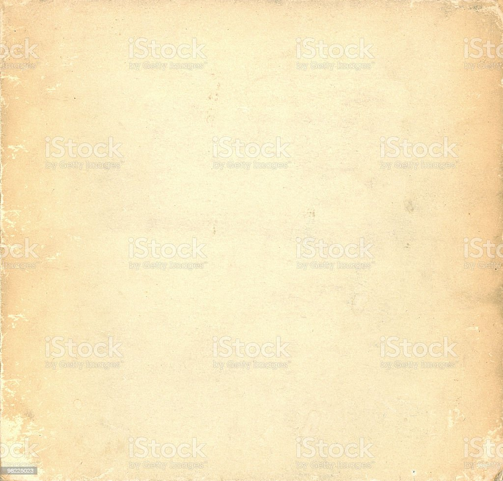 Vintage paper background in off white royalty-free stock photo