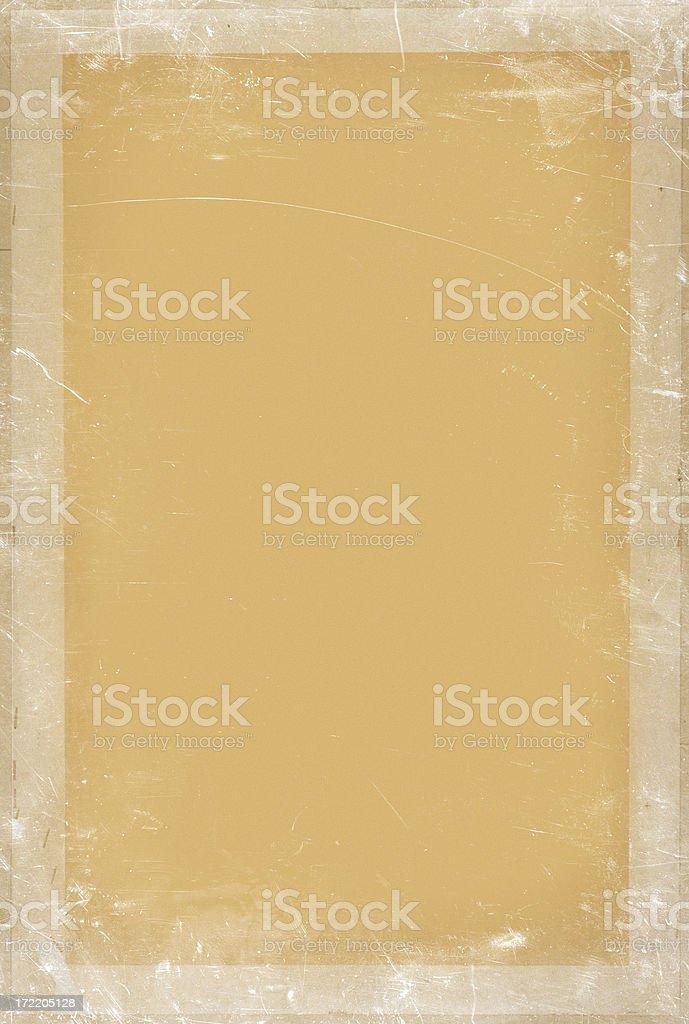 vintage paper frame royalty-free stock photo