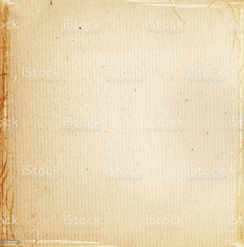Vintage Paper Square XXL royalty-free stock photo
