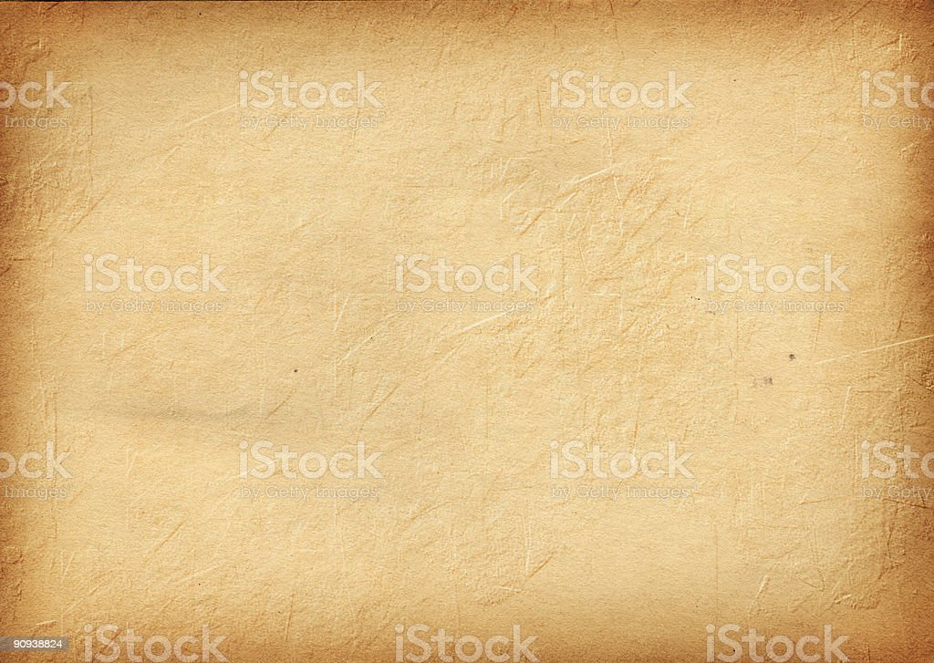 Vintage Paper w/ Stucco/Plywood Texture royalty-free stock photo