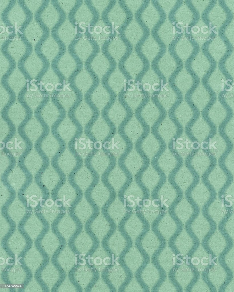 vintage paper with 60's style pattern royalty-free stock vector art