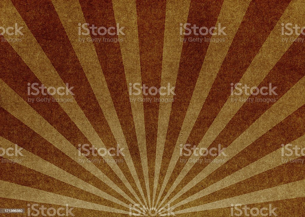 Vintage Paper with Grunge Starburst royalty-free stock photo