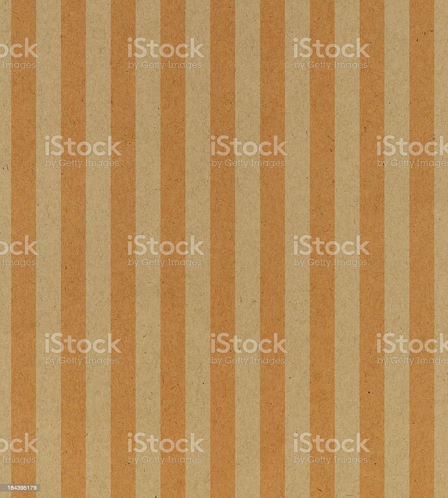 vintage paper with orange stripe royalty-free stock photo